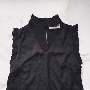 THE IMPECCABLE PIG • choker sleeveless blouse